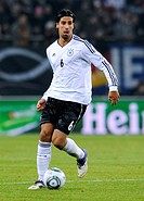 Sami Khedira, Germany, international football match, friendly match, Germany - Netherlands 3:0, Imtech Arena, Hamburg, Germany, Europe