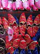 Turkish Slippers, Istanbul,.Turkish Slippers, Istanbul, Turkey.