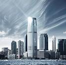 Future city _ newyork skyline