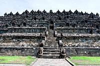 Borobudur Temple, Yogyakarta, Indonesia, Southeast Asia, Asia