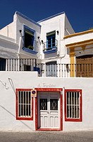 Houses, Nijar, Almeria province, Andalucia, Spain