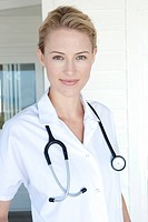 Portrait Of Female Doctor.