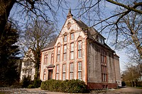 Former building of the Aurich State Archives, Aurich, East Frisia, Lower Saxony, Germany, Europe
