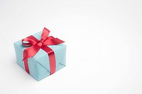 Festively wrapped gift