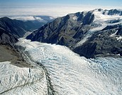 New Zealand Westland national park Franz Josef Glacier