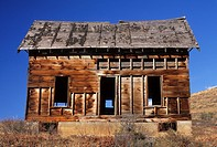 Abandoned ranchhouse, Methow Wildlife Area, Washington