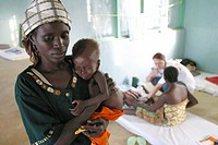 In the North of Nigeria there is high level of severe malnutrition among the population People are being treated in hospitals and often admitted to tr...