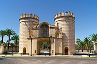 Badajoz Spain  Former Puerta de Palmas in the city of Badajoz
