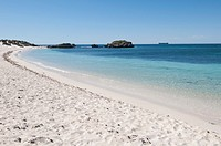 Crystal clear beaches of Rottnest island Wadjemup