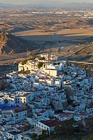 Mojacar, Almeria Province, Spain  Typical white village