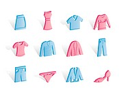 Clothing internet Icons _ Vector Icon Set