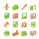 Business and Office Icons _ Vector Icon Set 2