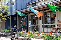 The Celtic rose store, Peddler's Village, Lahaska, Bucks County, PA, USA