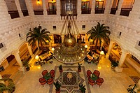 Overview of lobby area, Movenpick Resort Petra, Petra, Jordan
