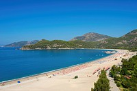 Oeluedeniz beach near Fethiye, Turkish Aegean Coast, Turkey