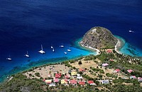 French Caribbean - Caribbean Islands - Les Saintes - Terre de Haut . Pain de sucre
