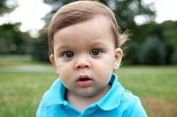 Young Boy Portrait, Close_Up
