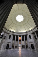 The interior view of Federal Hall National Memorial  New York City  New York  USA