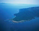 Shiretoko Cape Aerial Photograph
