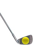 Golfing equipment on artficial grass outdoors