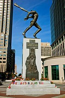Memorial to the Katyn Massacre, Jersey City, NJ  The Katyn Massacre was recently in the news because of the April 10, 2010, plane crash with many Poli...