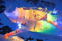 Sounkyo Ice Festival