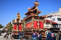 The spring festival of Takayama Festival Sanno Festival