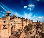 Mughal architecture _ Gwalior fort. Gwalior