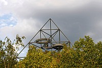 The Tetraeder in Bottrop, Ruhrarea, Germany