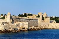 Port of Rhodes Town, Rhodes island, Greece, Europe