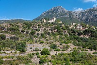 Artists' village of Deia, Majorca, Balearic islands, Spain, Europe