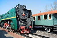 Russian steam locomotive P36-0001  Built in 1950