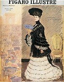 Fashion, France, 20th century. The Parisienne. Cover of the Figaro Illustre', 1904.  Paris, Bibliothèque Des Arts Decoratifs (Library)