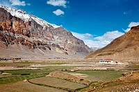 Spiti Valley. Himachal Pradesh, India