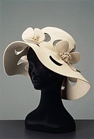 Fashion, 20th century. Women's hat.  Private Collection