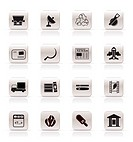 Simple Business and industry icons _ Vector Icon set 2