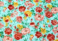 Flower wallpaper textile for background