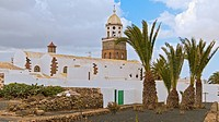 Spain Lanzarote Teguise Church Steeple