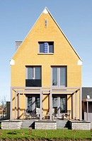 New house in Vathorst, Amersfoort, the Netherlands