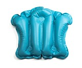 PVC inflatable bath cushion isolated on white