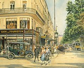 A street in Vienna, Austria 20th Century.