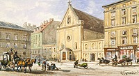 Church of the Capucines in Vienna, Austria 19th Century.
