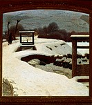 Snow, by Giuseppe Pelizza da Volpedo, 1906, oil on canvas