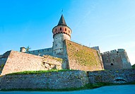 Kamianets_Podilskyi Castle Khmelnytskyi Oblast, Ukraine is former Polish castle that is one of the Seven Wonders of Ukraine. Built in early 14th centu...