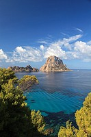 Spain, Balearic Islands, Ibiza, Cala D'Hort Beach