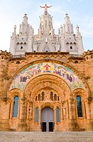 Expiatory Church of the Sacred Heart of Jesus, Barcelona, Spain