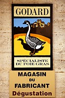 Gooses products Medieval village of Sarlat France