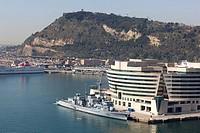 Barcelona seaport  Barelona, Spain