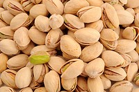 Extreme close_up image of pistachios good for background