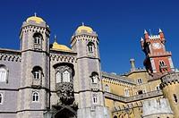 Pena National Palace in Sintra, Portugal Palacio Nacional da Pena
